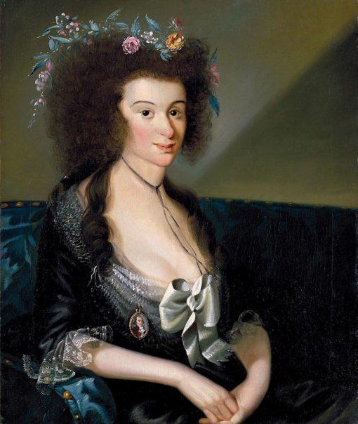 Matilda Davis Williams   Christian Gullager   Oil Painting
