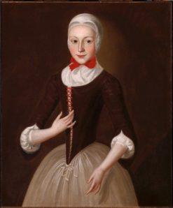 Young Moravian Girl | John Velentine Haidt | Oil Painting
