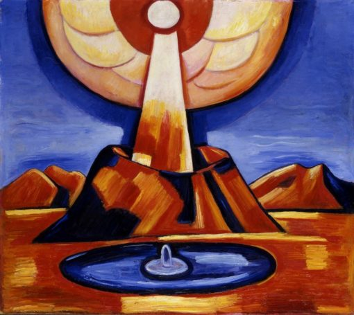 Yliaster (also known as Paracelsus) | Marsden Hartley | Oil Painting