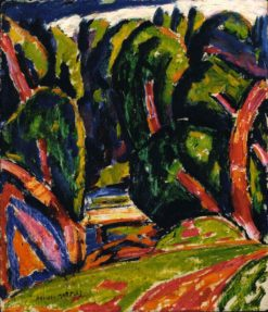 Red Tree | Marsden Hartley | Oil Painting