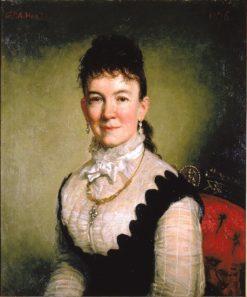 Mrs. Albert J. Myer (Catherine Walden) | George Peter Alexander Healy | Oil Painting