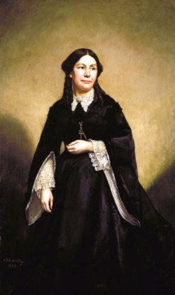 Mrs. William Tecumseh Sherman | George Peter Alexander Healy | Oil Painting