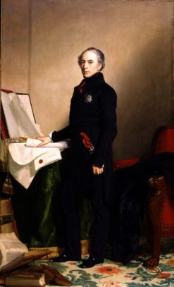 Francois Pierre Guillaume Guizot | George Peter Alexander Healy | Oil Painting