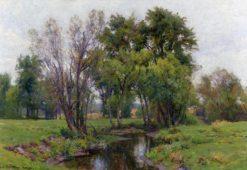 A Meadow Stream | Hugh Bolton Jones | Oil Painting