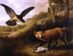 Disputed Game   Thomas Hewes Hinckley   Oil Painting