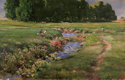 The Babbling Brook | William Henry Holmes | Oil Painting
