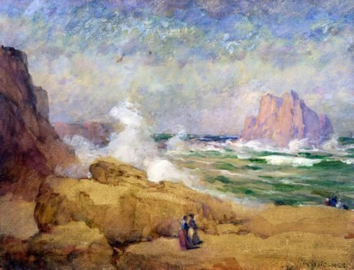 On the Coast of California | William Henry Holmes | Oil Painting