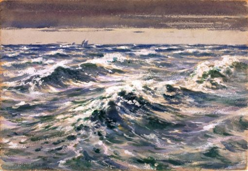 The Open Sea | William Henry Holmes | Oil Painting