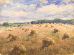 Maryland Wheat Fields | William Henry Holmes | Oil Painting
