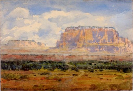 The Enchanted Mesa | William Henry Holmes | Oil Painting