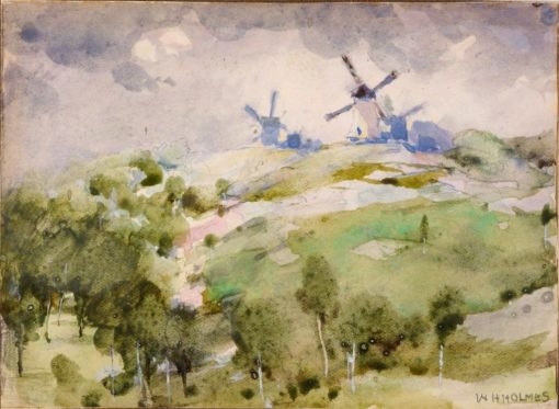 Windmills | William Henry Holmes | Oil Painting
