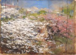 Field of Blossoms | William Henry Holmes | Oil Painting
