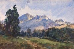 Wyoming Foot Hills | William Henry Holmes | Oil Painting