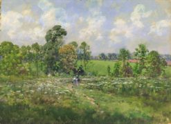 Flowery Meadow | William Henry Holmes | Oil Painting