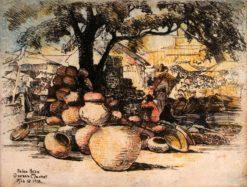 Oaxaca Market | Helen Hyde | Oil Painting