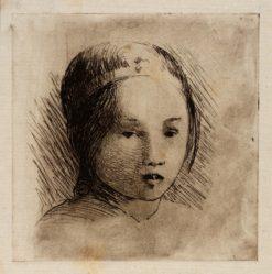Head of Ah Ho | Helen Hyde | Oil Painting