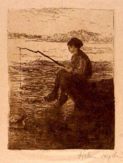 Fisher Boy | Helen Hyde | Oil Painting
