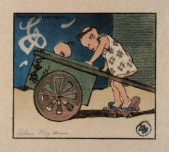 The Go-Cart   Helen Hyde   Oil Painting