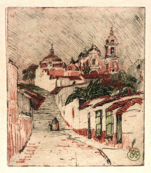 Church at Cuernavaca