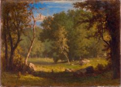 Elf Ground | George Inness | Oil Painting