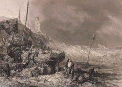 Der Meeresstrand | Eugène Isabey | Oil Painting