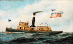 "The Ocean-Going Tug ""May McWilliams"" 
