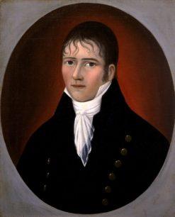 Portrait of Sea Captain John Murphy | Joshua Johnson | Oil Painting