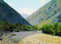The Mountain Pass | Vasily Vasilevich Vereshchagin | Oil Painting