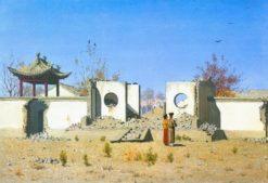 Ruins in Ak-Kent | Vasily Vasilevich Vereshchagin | Oil Painting