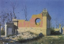 Theater Ruins in Chuguchak | Vasily Vasilevich Vereshchagin | Oil Painting