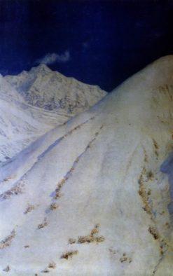 The Himalayan Snow   Vasily Vasilevich Vereshchagin   Oil Painting