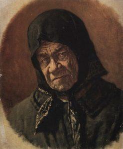 An Old Beggar | Vasily Vasilevich Vereshchagin | Oil Painting