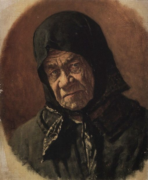 An Old Beggar | Vasily Vasilevich Vereshchagin | Oil Painting