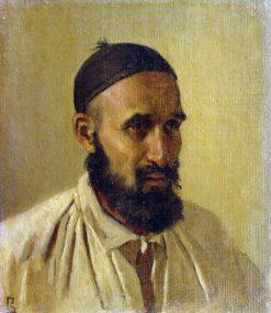 Tatar Man from Orenburg Prison | Vasily Vasilevich Vereshchagin | Oil Painting