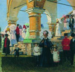 Trinity Day | Vasily Vasilevich Vereshchagin | Oil Painting