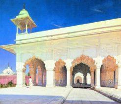 The Fort of Delhi | Vasily Vasilevich Vereshchagin | Oil Painting