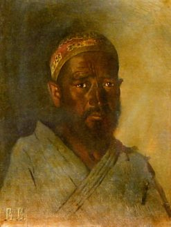 Turkmen Man | Vasily Vasilevich Vereshchagin | Oil Painting