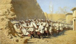At the Fortress Walls | Vasily Vasilevich Vereshchagin | Oil Painting