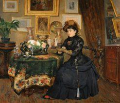 Parisian Interior | Paul-Charles Chocarne-Moreau | Oil Painting