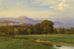 Landscape (also known as Summer Landscape) | George Inness | Oil Painting