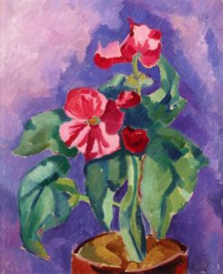 Pink Begonias (also known as Still Life: Pink Begonia) | Marsden Hartley | Oil Painting