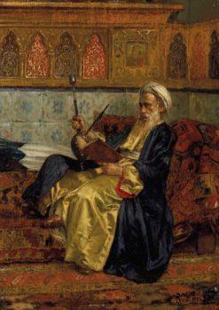 An Arab Scholar | Rudolf Ernst | Oil Painting