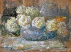 Roses | Olga Bozna?ska | Oil Painting