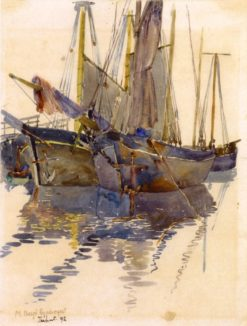 A Study of Two Schooners (also known as Fishing Schooners