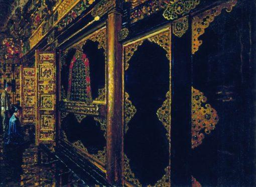 Temple in Tokyo | Vasily Vasilevich Vereshchagin | Oil Painting