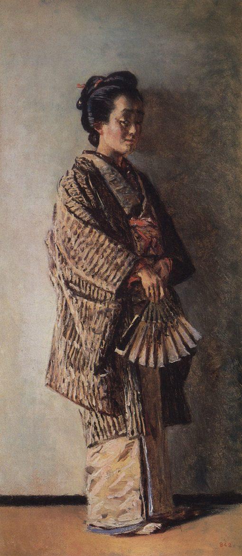 A Japanese Lady | Vasily Vasilevich Vereshchagin | Oil Painting