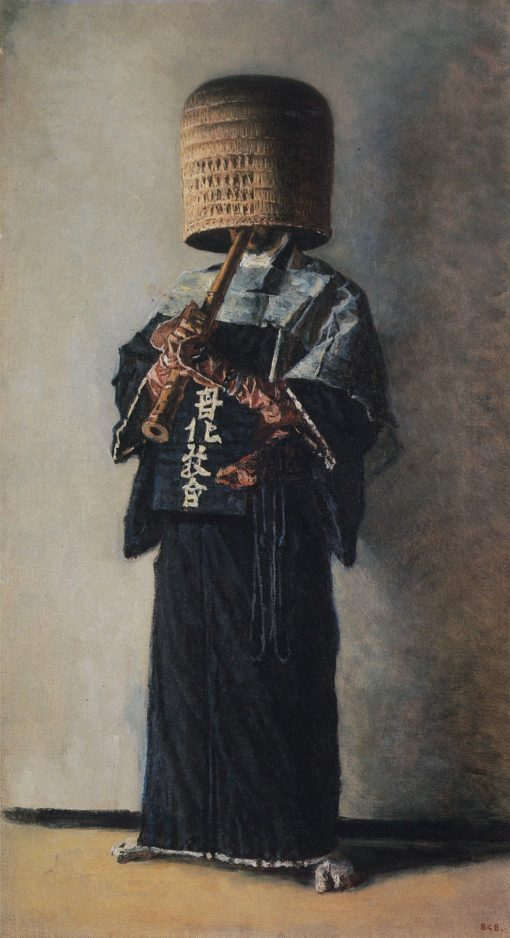 A Japanese Beggar | Vasily Vasilevich Vereshchagin | Oil Painting