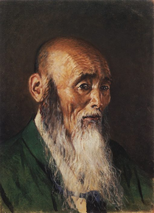 A Japanese Priest   Vasily Vasilevich Vereshchagin   Oil Painting