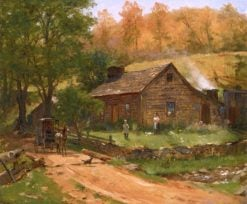 Going to Town | Thomas Worthington Whittredge | Oil Painting