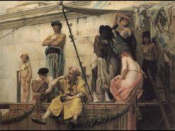 The Slave Market | Gustave Boulanger | Oil Painting